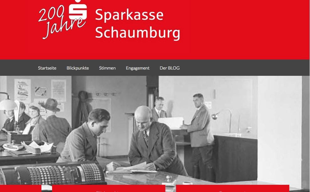 200 Jahre Sparkasse Schaumburg
